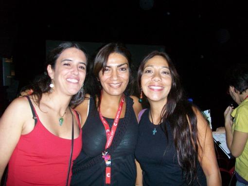 Directora de Cine Lorena Garcia y cantantes argentinas